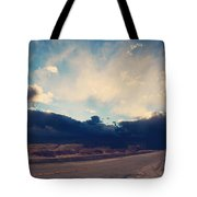 Just Down The Road Tote Bag by Laurie Search