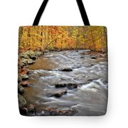Just Going With The Flow Tote Bag