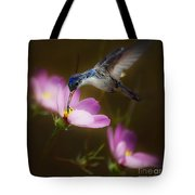 Just Loving The Cosmos Tote Bag