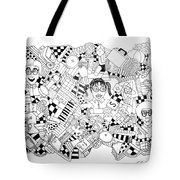 Just Nerdy Things Tote Bag