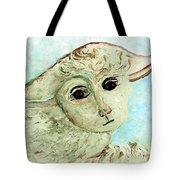 Just One Little Lamb Tote Bag