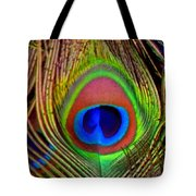Just One Tail Feather Tote Bag