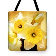 Just Plain Daffy 1 - Flora - Spring - Daffodil - Narcissus - Jonquil Tote Bag