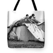 Just Plane Exhausted Tote Bag