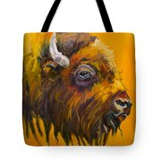 Just Sayin Bison Tote Bag
