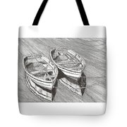 Two Dinghy Friends Just The Two Of Us Tote Bag