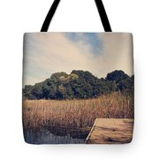 Just To Make This Dock My Home Tote Bag by Laurie Search