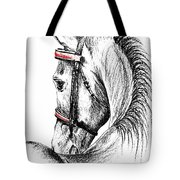 Justin Morgan Tote Bag