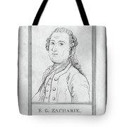 Justus Zachariae (1726-1777) Tote Bag