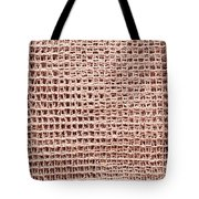 Jute Background Tote Bag