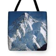 K2 At Dawn Pakistan Tote Bag