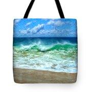 Kaanapali Shorebreak Maui Tote Bag