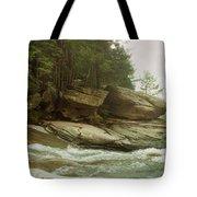 Kaaterskill Falls In Autumn, Catskill Tote Bag