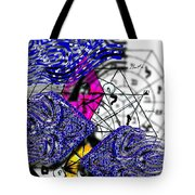 Kabbalah And Fish Tote Bag
