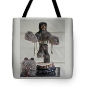 Kachina Doll Bear Head Removed Tote Bag
