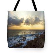 Kaena Point State Park Sunset 3 - Oahu Hawaii Tote Bag