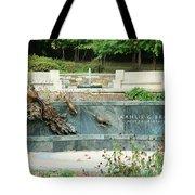 Kahlil Gibran Memorial Garden Tote Bag