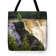 Kakabeka Falls On The Kaministiquia River Tote Bag