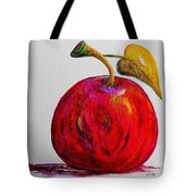Kaleidoscope Apple -- Or -- Apple For The Teacher  Tote Bag by Eloise Schneider