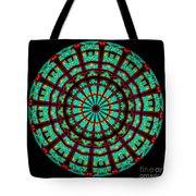 Kaleidoscope Of A Neon Sign Tote Bag
