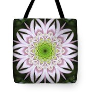 Kaleidoscope Pink Daisy Tote Bag
