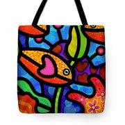 Kaleidoscope Reef Tote Bag by Steven Scott
