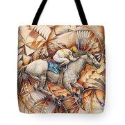 Kaleidoscope Rider Tote Bag by Ricardo Chavez-Mendez