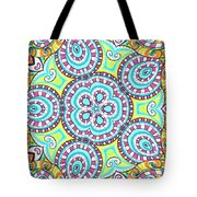 Kaleidoscopic Whimsy Tote Bag