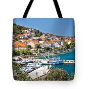 Kali Small Fishermen Town Harbor Tote Bag