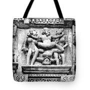 Kamasutra Scene In Khajuraho - India Tote Bag