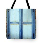 Kampot Blue Shutters Tote Bag