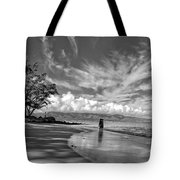 Kanahna Beach Maui Hawaii Panoramic Tote Bag