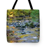 Kanaka Creek In The Fall Tote Bag