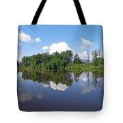Kanaka Creek Rising - Maple Ridge, British Columbia Tote Bag