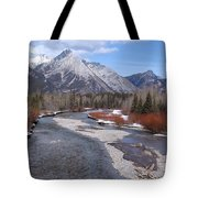 Kananaskis River Tote Bag