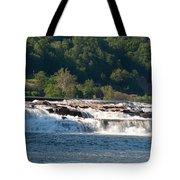 Kanawah Falls I - Spring Tote Bag
