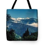 Kanchenjunga Tote Bag