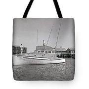 Kandy Of Barnstable Harbor 1950's Tote Bag