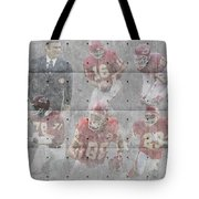 Kansas City Chiefs Legends Tote Bag