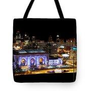 Kansas City Lights Tote Bag