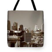 Kansas City Skyline 10 Tote Bag