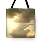 Kansas Clouds Tote Bag