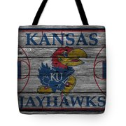 Kansas Jayhawks Tote Bag