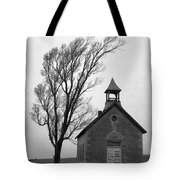 Kansas Schoolhouse Tote Bag