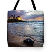 Kapa'a Kauai Sunrise Tote Bag