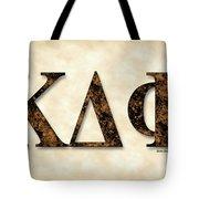 Kappa Delta Phi - Parchment Tote Bag