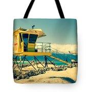 Kapukaulua Beach Lifeguard Station Paia Maui Hawaii  Tote Bag