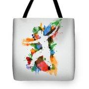 Karate Fighter Tote Bag