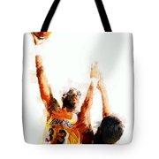 Kareem Abdul Jabbar N B A Legend Tote Bag