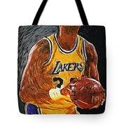 Kareem Abdul-jabbar Tote Bag by Taylan Apukovska